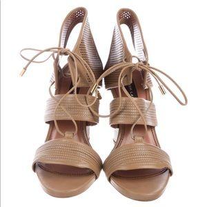 Derek Lam - Lace-up Wedge Sandals